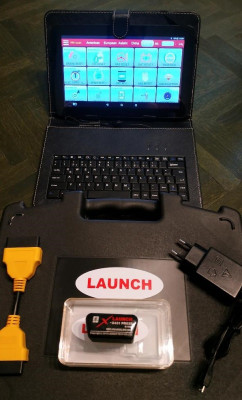 Kit Tester Auto Launch Easydiag 2019, update 2020, Tableta 10.1 inch Full foto