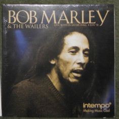 Vinyl Bob Marley  ‎– Live: Boston Music Hall 8 Jun '78  UK 2017,sigilat, VINIL