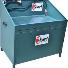 Banc masa spalare piese schimb 1175x775mm 500kg pompa electrica perie 230V