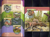 SAO TOME PRINCIPE 2015, Fauna Dinozauri, serie neuzata, MNH