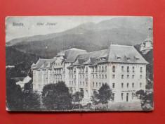 CARTE POSTALA SINAIA Hotel Palace  ? aprox 1912 timbru deslipit foto