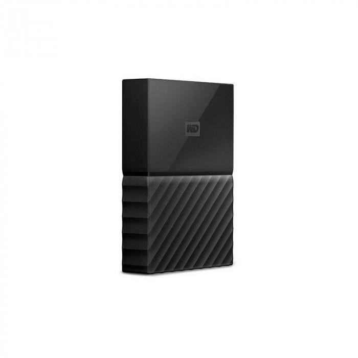 Hard disk extern WD My Passport for Mac 4TB 2.5 inch USB 3.1 Type-C Black