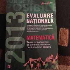 Subiecte matematică pentru Evaluarea Națională