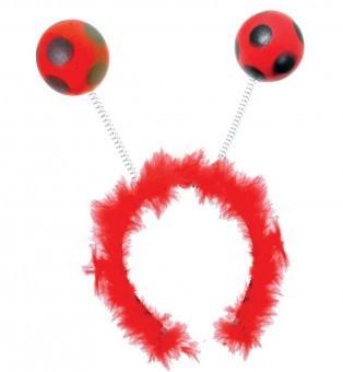 Costum Copii pentru serbare Buburuza cu antene 98 cm foto