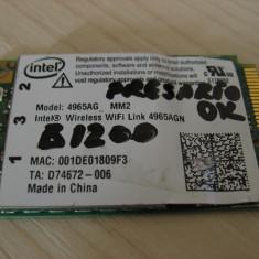 Placa wireless laptop HP Compaq Presario B1200, Intel WiFi 4965AGN, 441082-002