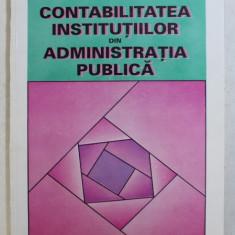 CONTABILITATEA INSTITUTIILOR DIN ADMINISTRATIA PUBLICA de CONSTANTIN JITARU , 1995