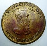 7.800 MEDALIE USA SUA PRESEDINTE ANDREW JACKSON 25,5mm, America de Nord
