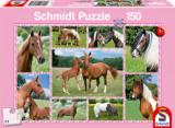 Cumpara ieftin Puzzle Beautiful Horses, 150 piese, Schmidt