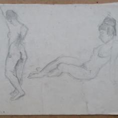 Studiu pentru nud - semnat  Kiss J.