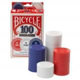 Set jetoane Bicycle Plastic