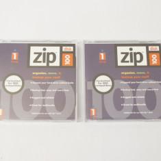 Lot 2 dischete Iomega ZIP 100 Mb - noi