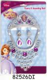 Set diademă şi bijuterii (4 piese) - Sofia Întai