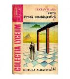 Teatru - Proza autobiografica vol. ll
