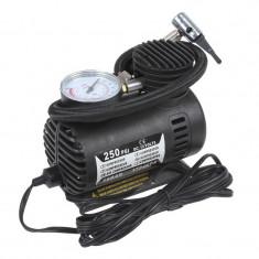 Compresor auto cu alimentare 12 V, 250 PSI