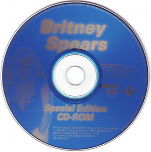 CD Britney Spears – Special Edition CD-Rom (Plus Stronger Remix) , original