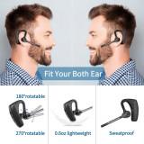 Cumpara ieftin Casca Bluetooth 5.0 Profesionala, Handsfree, Eliminare Zgomot, Control Volum si Muzica, Buton Mute, Sunet HD, 2 Microfoane, Apelare Ultimul Numar, Com