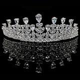 Tiara placata cu Aur 18K si Diamante, Queen