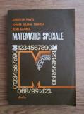 Garofita Pavel - Matematici speciale. Aplicații