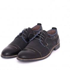 Pantofi barbati sport casual din piele naturala VIC3180