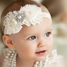 Bentita ivory cu perla si cristale, Universal