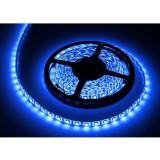 Banda LED albastru 5m protectie IP65