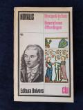 Novalis – Discipolii la Sais. Heinrich von Ofterdingen