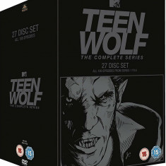 Film Serial Teen Wolf DVD BoxSet Complete Collection, Groaza, Engleza, independent productions