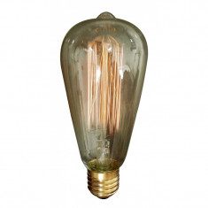 Bec Well, vintage, filament tip Edison, 60 W
