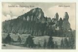 cp Campulung Moldovenesc : Pietrele Doamnei - 1926, circulata,timbre