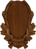 Panoplie din lemn trofeu caprior O1