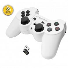 Controller Esperanza EGG108W Gladiator, cu vibratii, PC/PS3, Wireless