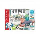 Perna de joaca pentru bebelusi, B Kids, cu pian