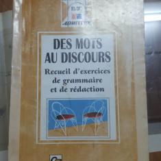 De la cuvinte la vorbire, colectarea exercițiilor de gramatică și scris, 1996