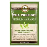 Cumpara ieftin Masca premium pentru par Difeel din Ulei de Arbore de Ceai pentru prevenirea scalpului uscat si al matretii, 50 g