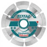 Disc diamantat taiere beton 180mm, Total Tools