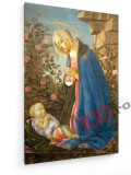 Tablou pe panza (canvas) - Sandro Botticelli - Madonna Wemyss