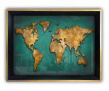 Tablou Continent 35x45 cm