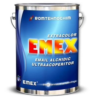 "Email Alchidic ""Emex Extracolor"", Galben, Bidon 23 Kg foto"