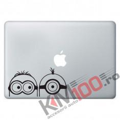 Minions mac stickers