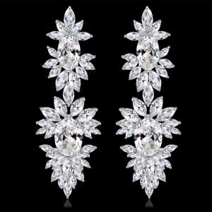 Cercei Mireasa Opulence Crystal