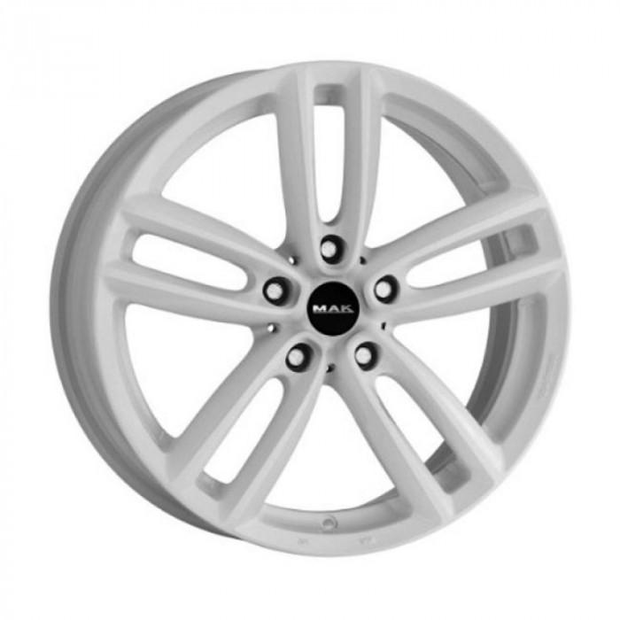 Jante BMW Seria 3 8J x 19 Inch 5X120 et50 - Mak Oxford Gloss White - pret / buc