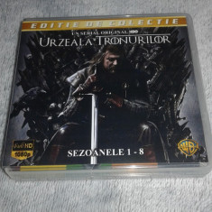 Urzeala Tronurilor - Game of Thrones Sezoanele 1 - 8