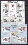 Man   sport  moto   8 serii  +  3 blocuri   MNH  w59