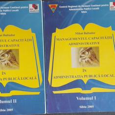 Managementul capacitatii administrative in administratia publica Mihai Baltador