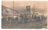 SV * PROCESIUNE FUNERARA * TRANSILVANIA DE NORD-VEST * FOTO / CP DOCUMENT !  WWI