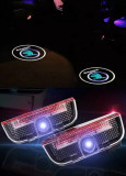 Logo pentru USI marca SKODA SUPERB set proiector lampa lumini usi holograma