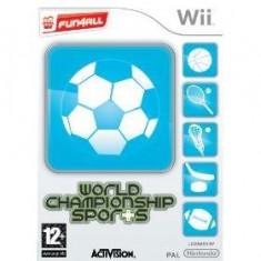 World Championship Sports Wii
