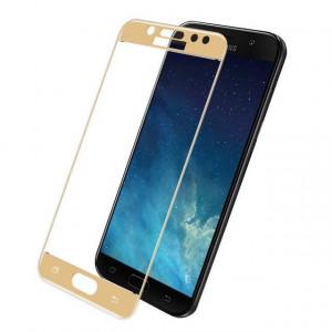 Folie Sticla Samsung Galaxy J5 2017 Flippy Full Face Auriu