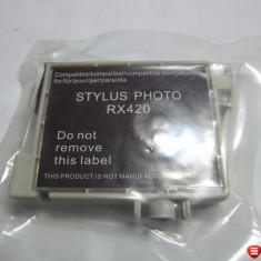 Cartus cyan compatibil pentru imprimanta Epson Stylus RX420 RX425 R200C, nou