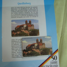 """3 Cartele Telefonice """"50 Jahre Deutschland"""" - Exponate NOI / 10"""